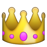 Crown on Apple iOS 8.3