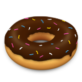 Doughnut on Apple iOS 8.3