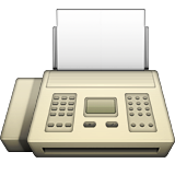 Fax Machine on Apple iOS 8.3
