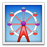 Ferris Wheel on Apple iOS 8.3