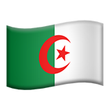 Flag: Algeria on Apple iOS 8.3