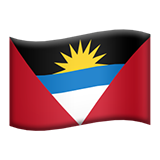 Flag: Antigua & Barbuda on Apple iOS 8.3