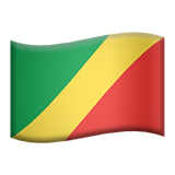 Flag: Congo - Brazzaville on Apple iOS 8.3