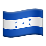 Flag: Honduras on Apple iOS 8.3