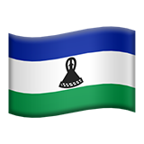 Flag: Lesotho on Apple iOS 8.3