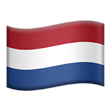 Flag: Netherlands on Apple iOS 8.3