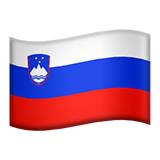 Flag: Slovenia on Apple iOS 8.3