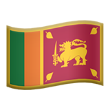 Flag: Sri Lanka on Apple iOS 8.3