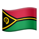 Flag: Vanuatu on Apple iOS 8.3