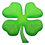 Four Leaf Clover on Apple iOS 8.3
