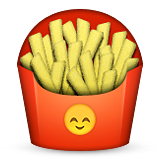 French Fries on Apple iOS 8.3