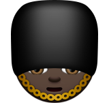 Guard: Dark Skin Tone on Apple iOS 8.3