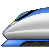 High-Speed Train on Apple iOS 8.3