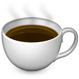 Hot Beverage on Apple iOS 8.3