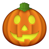 Jack-O-Lantern on Apple iOS 8.3