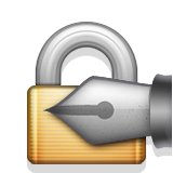 Locked With Pen on Apple iOS 8.3