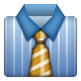 Necktie on Apple iOS 8.3