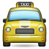 Oncoming Taxi on Apple iOS 8.3