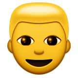 Person: Blond Hair on Apple iOS 8.3