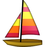Sailboat on Apple iOS 8.3