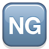 NG Button on Apple iOS 8.3