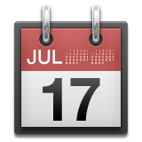 Tear-Off Calendar on Apple iOS 8.3