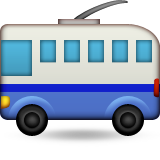 Trolleybus on Apple iOS 8.3
