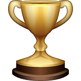 Trophy on Apple iOS 8.3