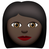 Woman: Dark Skin Tone on Apple iOS 8.3