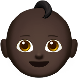 Baby: Dark Skin Tone on Apple iOS 10.0