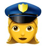 Woman Police Officer on Apple iOS 10.0