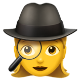 Woman Detective on Apple iOS 10.0
