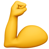 Flexed Biceps on Apple iOS 10.0
