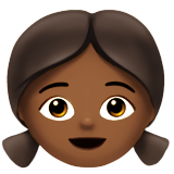Girl: Medium-Dark Skin Tone on Apple iOS 10.0