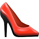High-Heeled Shoe on Apple iOS 10.0