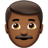Man: Medium-Dark Skin Tone on Apple iOS 10.0