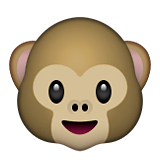 Monkey Face on Apple iOS 10.0