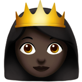 Princess: Dark Skin Tone on Apple iOS 10.0