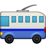 Trolleybus on Apple iOS 10.0