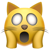 Weary Cat Face on Apple iOS 10.0