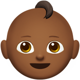 Baby: Medium-Dark Skin Tone on Apple iOS 10.2