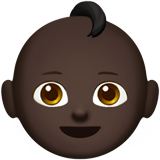 Baby: Dark Skin Tone on Apple iOS 10.2
