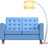 Couch and Lamp on Apple iOS 10.2