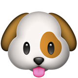 Dog Face on Apple iOS 10.2