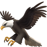 Eagle Emoji on Apple iOS 10.2