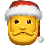 Santa Claus on Apple iOS 10.2