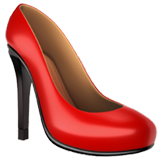 High-Heeled Shoe on Apple iOS 10.2