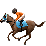Horse Racing: Medium Skin Tone on Apple iOS 10.2
