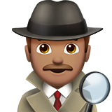 Man Detective: Medium Skin Tone on Apple iOS 10.2