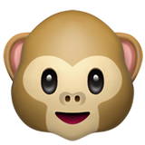 Monkey Face on Apple iOS 10.2